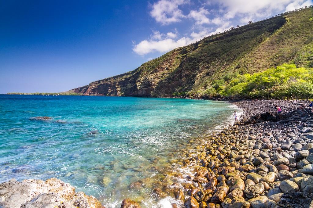 Kealakekua Bay in Captain Cook, on The Big Island of Hawaii